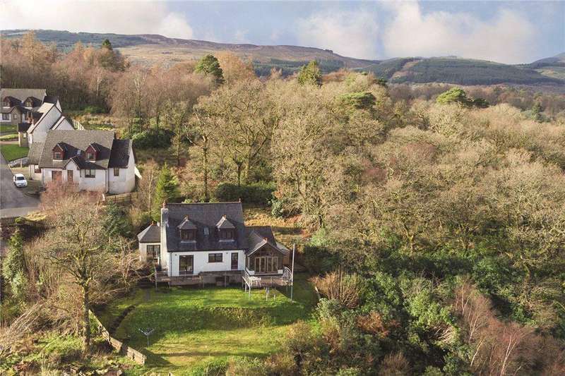 3 Bedrooms Detached House for sale in Eccles Road, Hunters Quay, Dunoon, Argyll and Bute