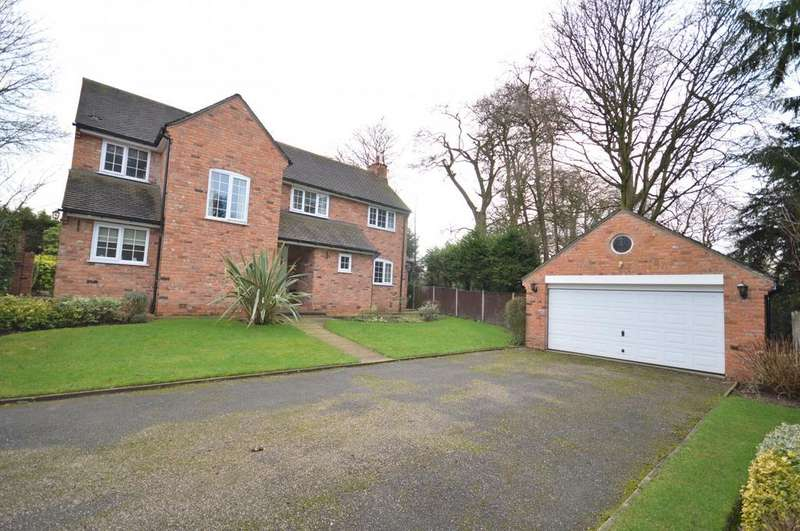 4 Bedrooms Detached House for sale in 3 The Hatchings, Lymm, Cheshire WA13 0LD
