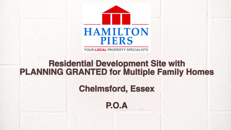 Land Commercial for sale in Residential Development Site, Chelmsford, CM1