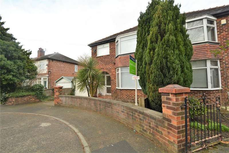 3 Bedrooms Semi Detached House for sale in Egerton Road South, Manchester, Greater Manchester, M21