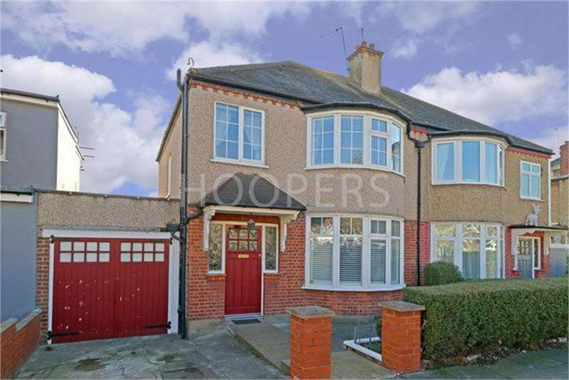 3 Bedrooms Semi Detached House for sale in Gladstone Park Gardens, London