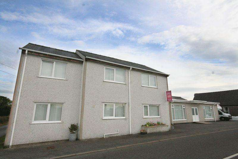 4 Bedrooms Detached House for sale in with Commercial Unit - Rhostrehwfa,Anglesey