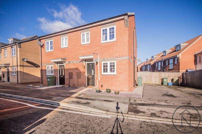 2 Bedrooms Semi Detached House for sale in Geranium Close, Billingham