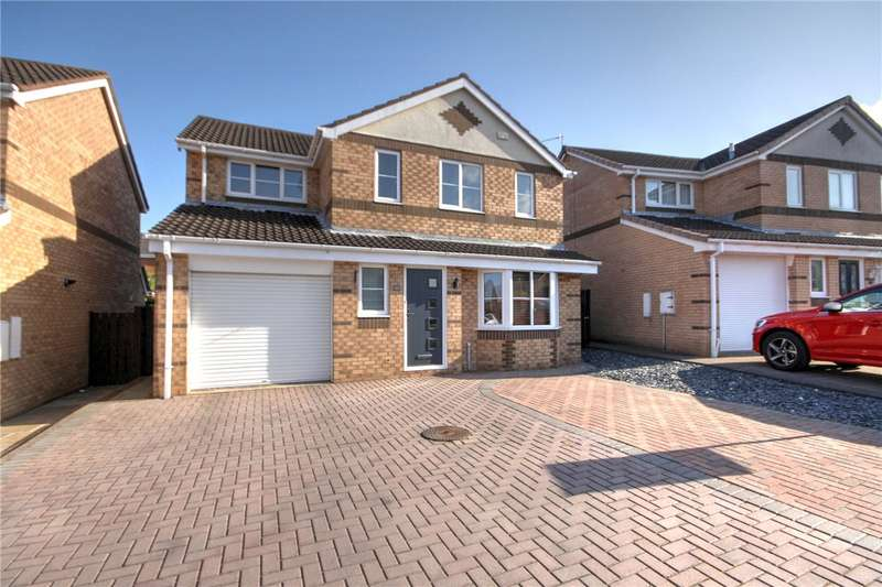 4 Bedrooms Detached House for sale in Middlehope Grove, Bishop Auckland, County Durham, DL14