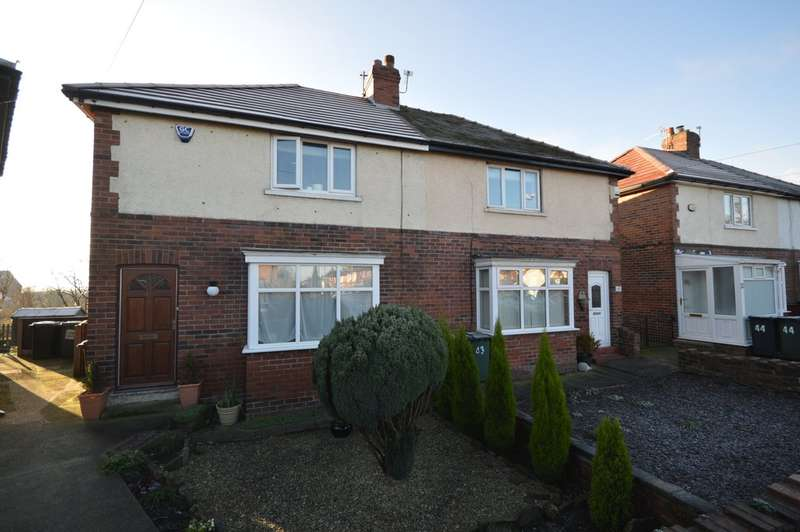 2 Bedrooms Semi Detached House for sale in Homefield Avenue, Morley