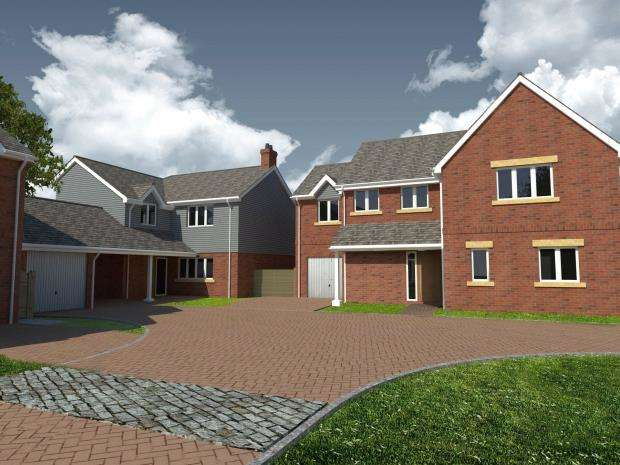 4 Bedrooms Detached House for sale in Cranfield Close, Salterton Road, Exmouth, Devon