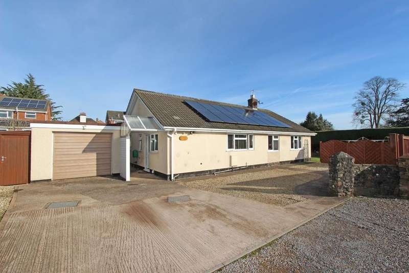 3 Bedrooms Detached Bungalow for sale in Shortlands Lane, Cullompton, EX15