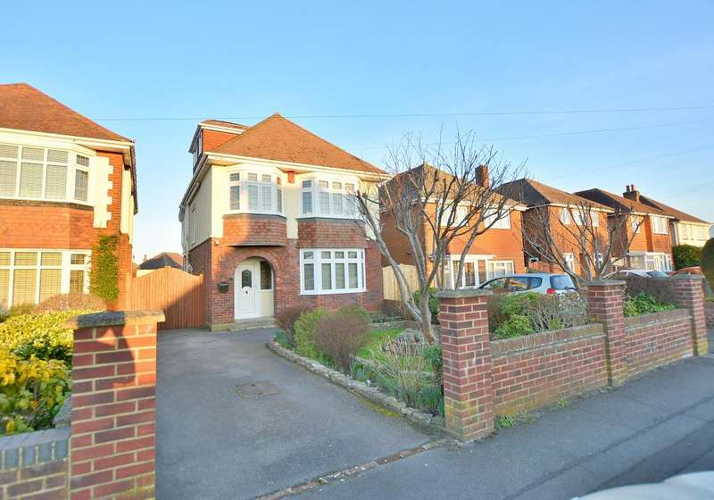4 Bedrooms Detached House for sale in Leybourne Avenue, Northbourne