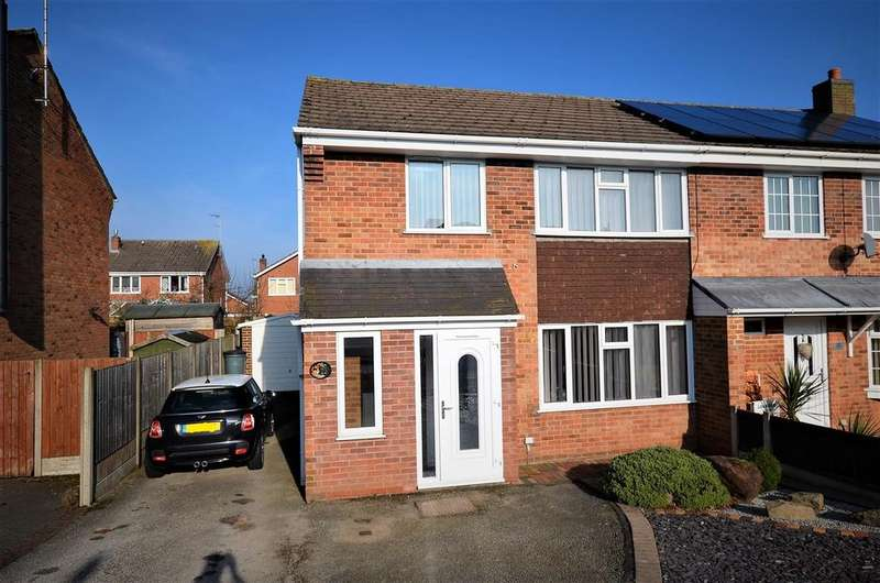 3 Bedrooms Semi Detached House for sale in Hollow Lane, Draycott-In-The-Clay, Ashbourne