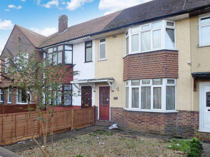 3 Bedrooms Terraced House for sale in Poynters Road, Dunstable