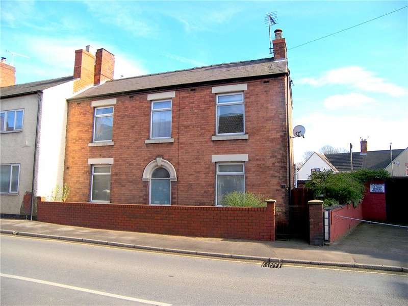3 Bedrooms Detached House for sale in Leabrooks Road, Somercotes, Alfreton, Derbyshire, DE55