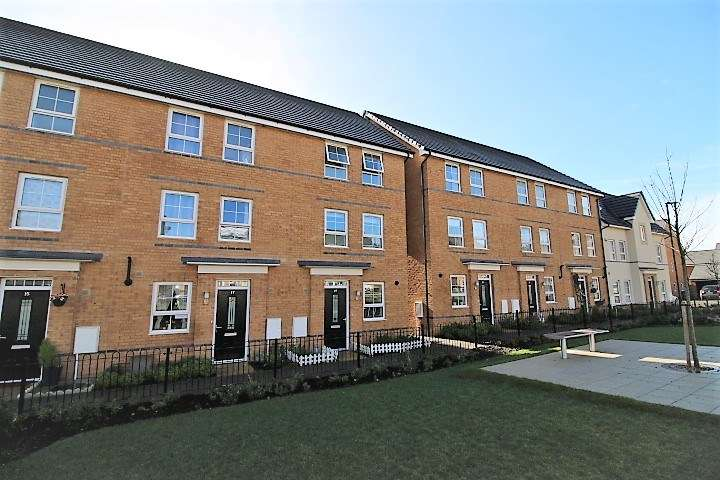 3 Bedrooms Town House for sale in John Liddell Way, Basingstoke, RG21