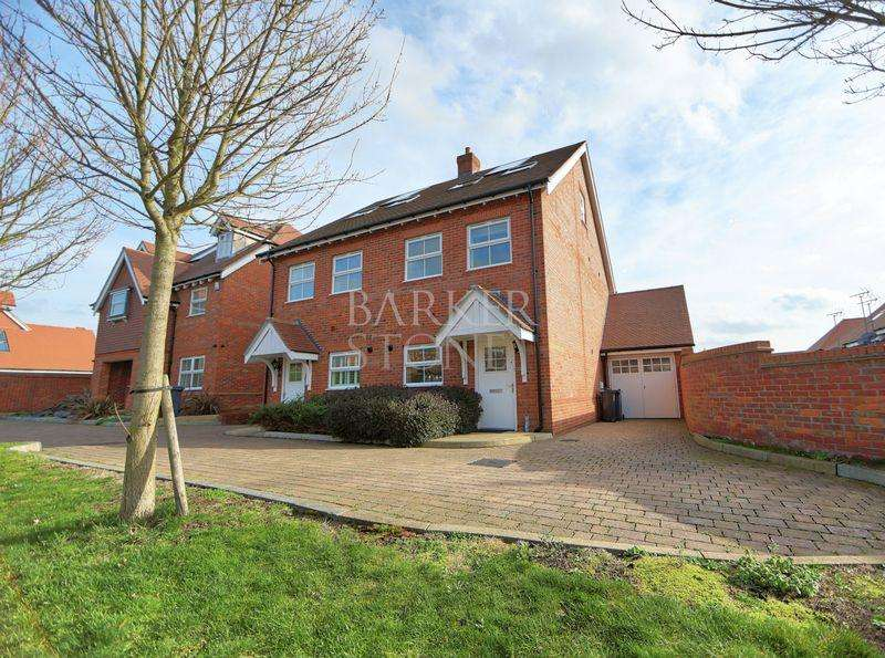 3 Bedrooms Semi Detached House for sale in Magnificent Modern Semi, Marlow