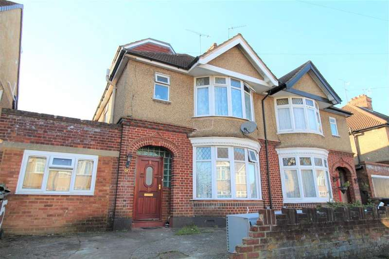 5 Bedrooms Semi Detached House for sale in St. Michaels Crescent, Luton