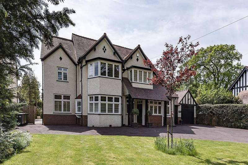 6 Bedrooms Detached House for sale in Warwick Road, Solihull, B91