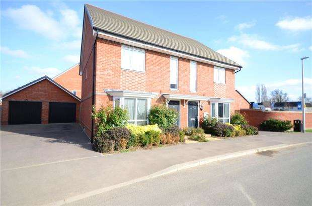 3 Bedrooms Semi Detached House for sale in Fullbrook Avenue, Spencers Wood, Reading