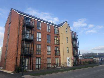 2 Bedrooms Flat for sale in Jenner Boulevard, Lyde Green, Bristol