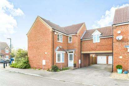 3 Bedrooms Link Detached House for sale in The Glebe, Clapham, Bedford, Bedfordshire