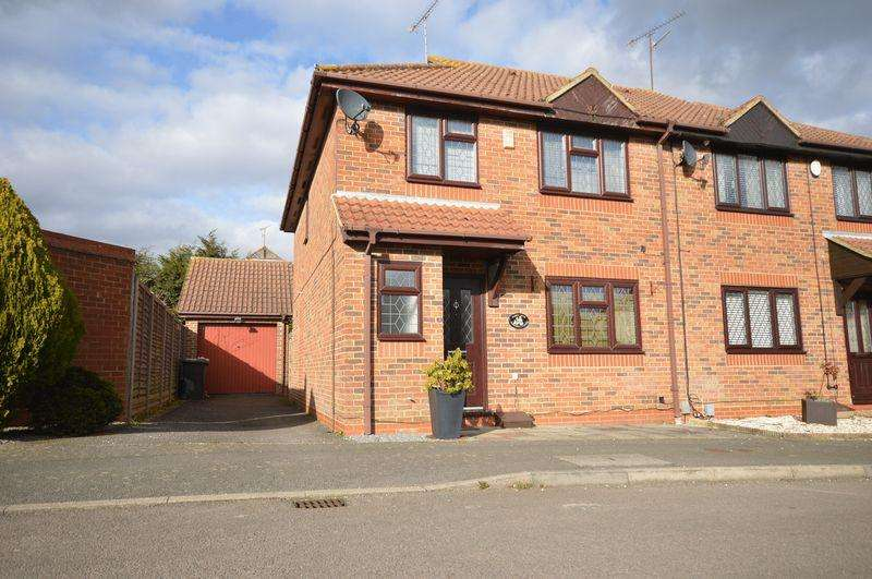 4 Bedrooms Semi Detached House for sale in Edgcott Close, Luton