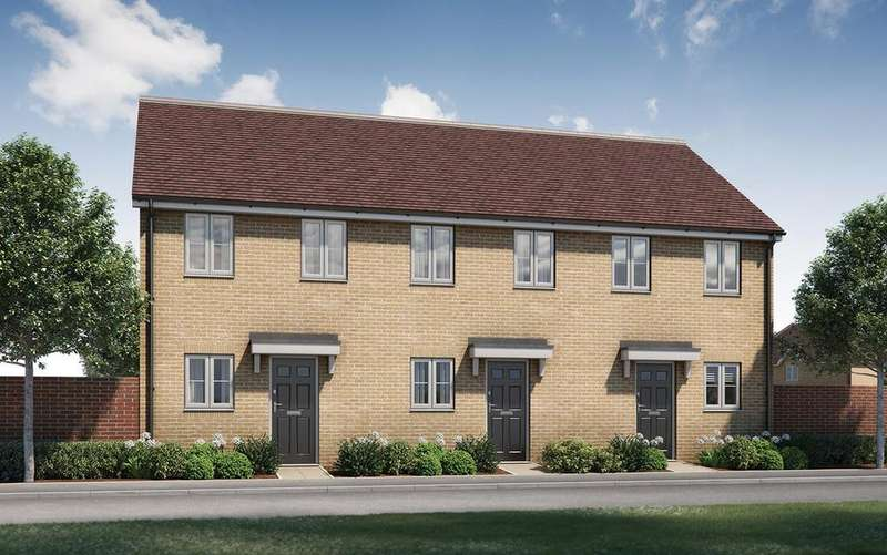 2 Bedrooms End Of Terrace House for sale in Plot 33, The Wilton, Tavistock Place, BEDFORD, MK45