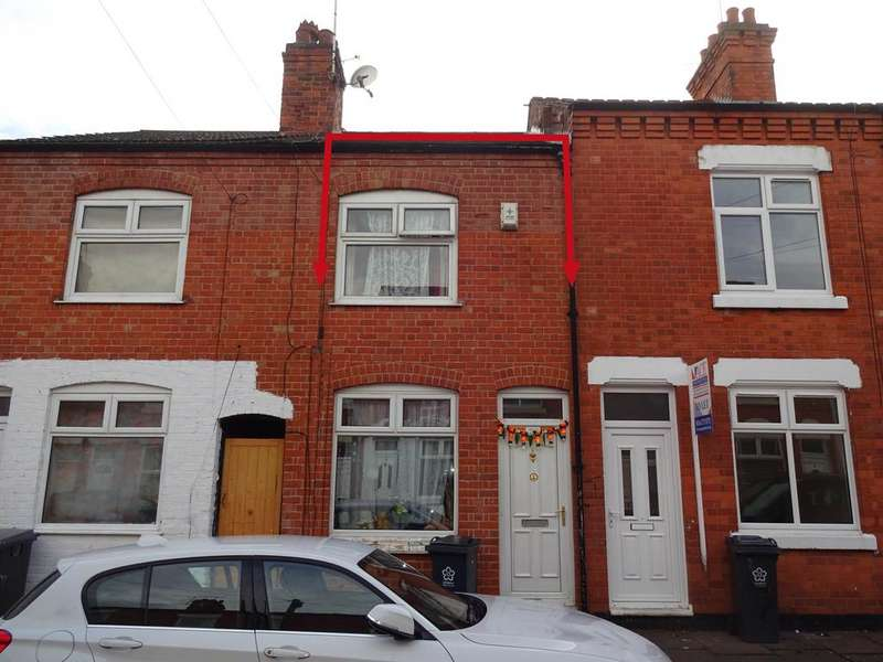 3 Bedrooms Terraced House for sale in Southdown Road, Near Green Lane Road, Leicester LE5