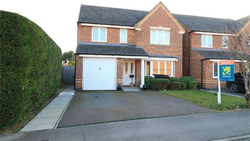 4 Bedrooms Detached House for sale in Thyme Avenue, BOURNE, Lincs