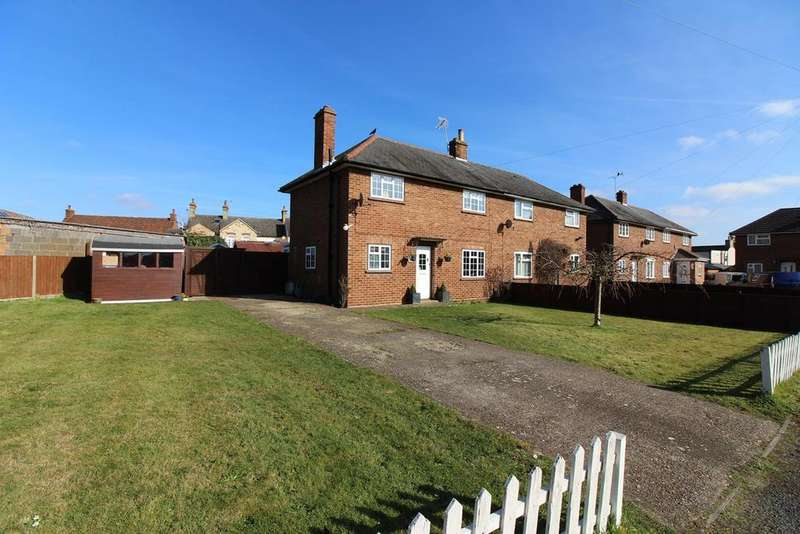3 Bedrooms Semi Detached House for sale in Brookside, Campton, SG17