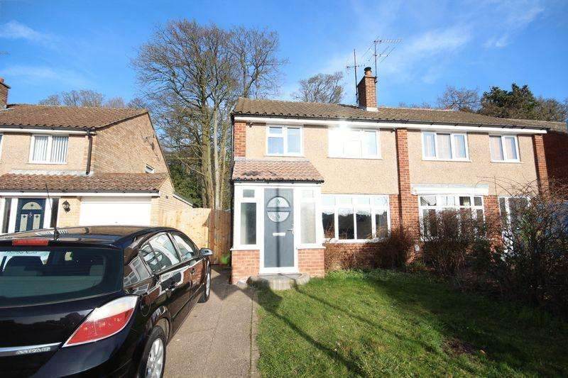 3 Bedrooms Semi Detached House for sale in Fantastic 3 bed in Putteridge