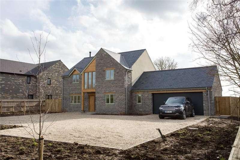 4 Bedrooms Detached House for sale in Pibsbury, Langport, Somerset, TA10