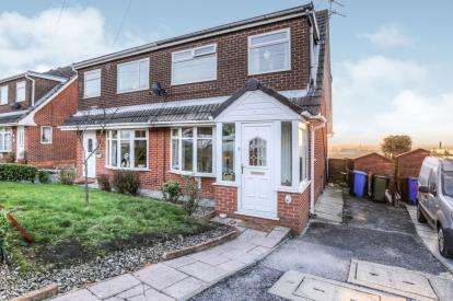 3 Bedrooms Semi Detached House for sale in Boulderstone Road, Stalybridge, Cheshire, United Kingdom