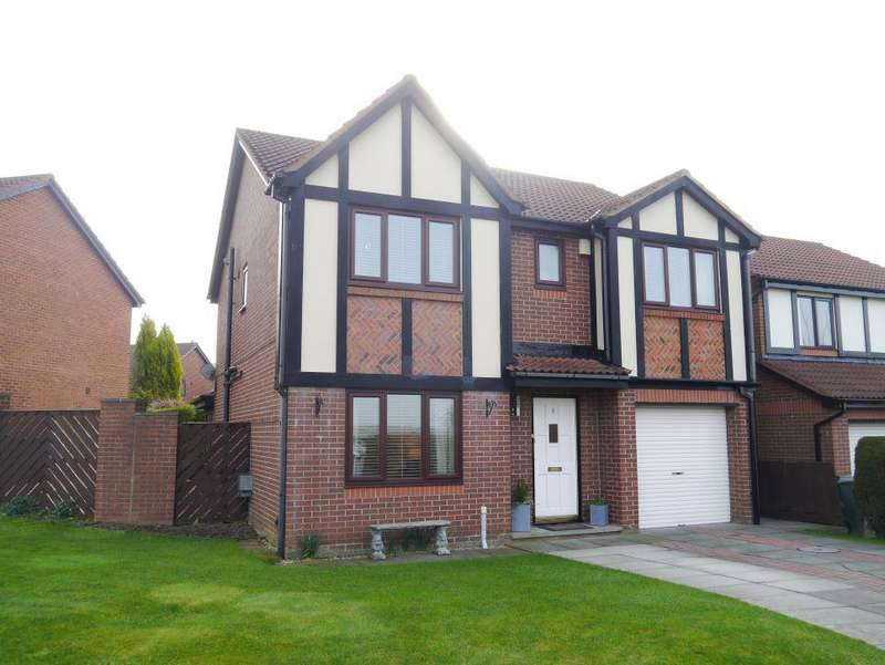4 Bedrooms Detached House for sale in EXTENDED FAMILY HOUSE Queensbury Drive, Abbey Farm, North Walbottle, Newcastle Upon Tyne