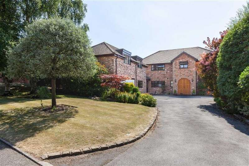 5 Bedrooms Detached House for sale in Sherbrook Rise, Wilmslow