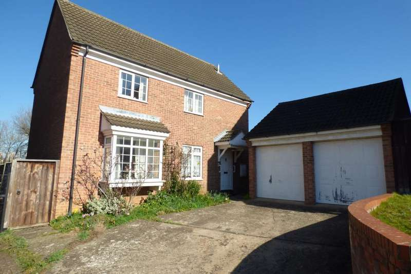 4 Bedrooms Detached House for sale in Kempston, Beds, MK42 8RT