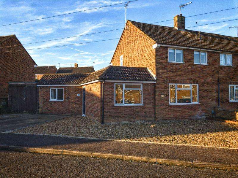 3 Bedrooms Semi Detached House for sale in GARAGE SUMMER HOUSE, three DOUBLE bedrooms, CONSERVATORY...
