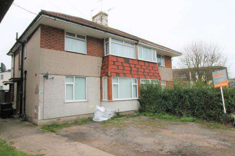 2 Bedrooms Flat for sale in Garden Flat, Gilda Close, Whitchurch, Bristol