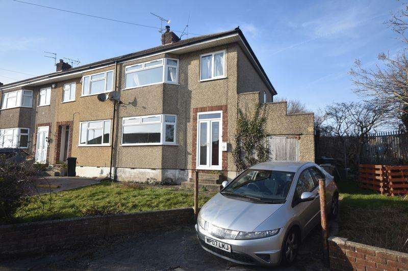 3 Bedrooms End Of Terrace House for sale in The Twynings, Kingswood