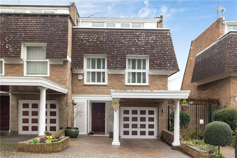 4 Bedrooms Terraced House for sale in Welford Place, London, SW19