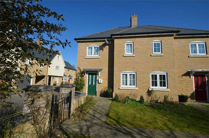 3 Bedrooms Semi Detached House for sale in Heronslee, SHEFFORD, Bedfordshire
