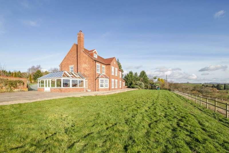 5 Bedrooms Detached House for sale in Newnham Bridge, Tenbury Wells, Worcestershire, WR15 8NX