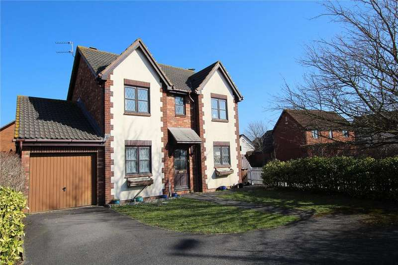 4 Bedrooms Detached House for sale in Stocken Close, Hucclecote, Gloucester, GL3