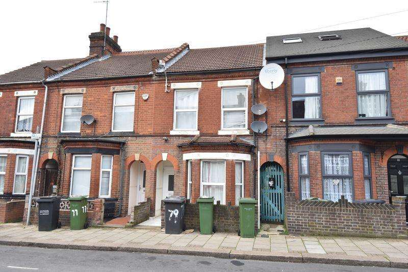 2 Bedrooms Flat for sale in Frederick Street, Luton