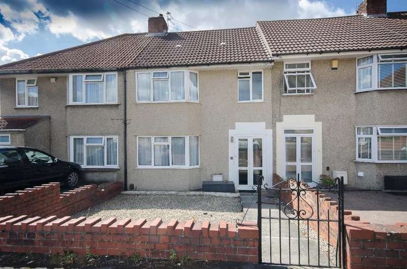 3 Bedrooms Terraced House for sale in Teewell Avenue, Staple Hill, BS16 5NG