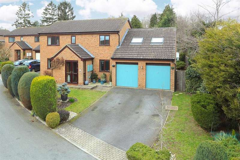 5 Bedrooms Detached House for sale in Hill Gardens, Market Harborough