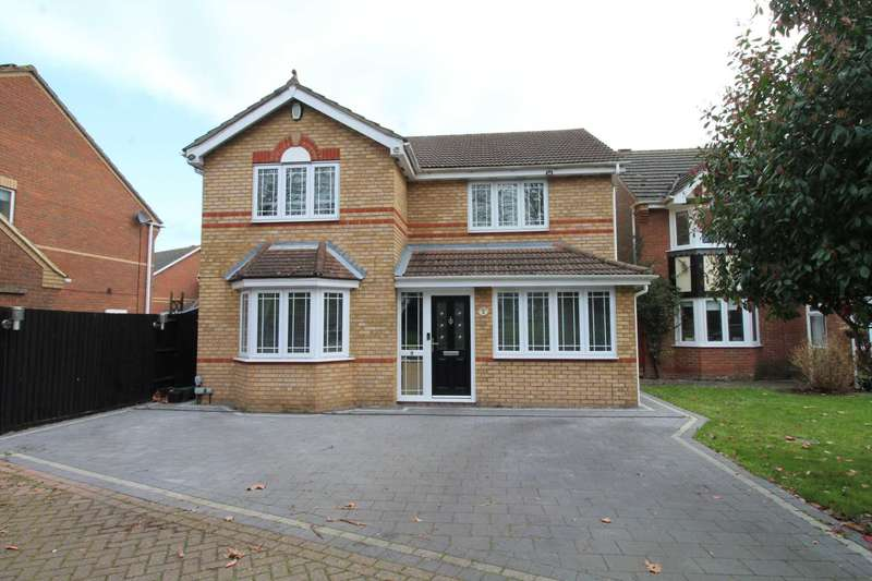 4 Bedrooms Detached House for sale in Holly Drive, Brandon Groves
