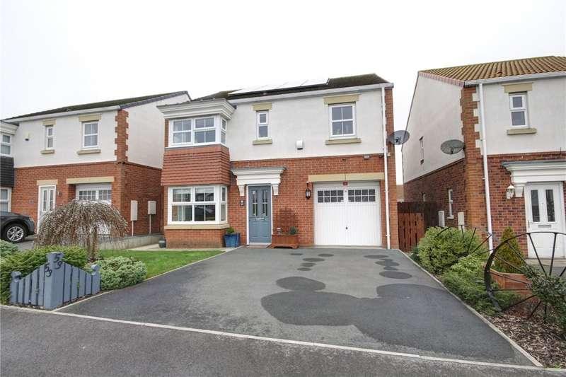 4 Bedrooms Detached House for sale in Lavender Crescent, Middlestone Moor, Spennymoor, DL16