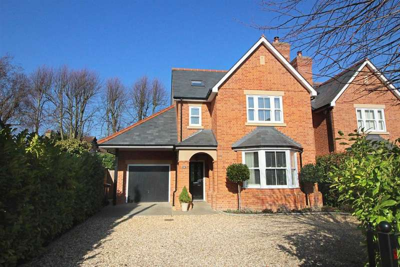 4 Bedrooms Detached House for sale in Derby Road, Caversham, Reading