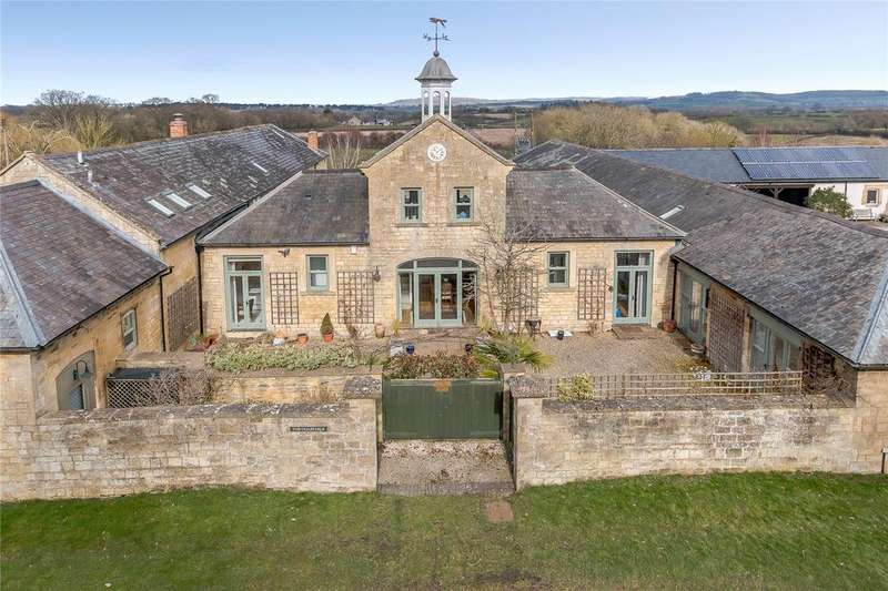 4 Bedrooms Semi Detached House for sale in Kitebrook, Little Compton, Moreton-in-Marsh, Gloucestershire