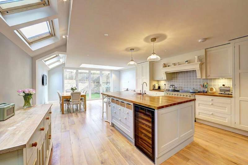5 Bedrooms Terraced House for sale in Coniger Road, London, SW6