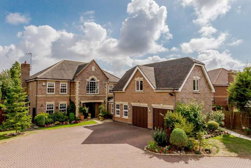 6 Bedrooms Detached House for sale in Chestnut Drive, Stretton Hall, Oadby, Leicestershire, LE2
