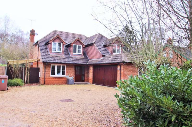 4 Bedrooms Detached House for sale in Nine Mile Ride, Finchampstead, RG40
